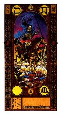 Death Tarot Card - Stairs Tarot Deck