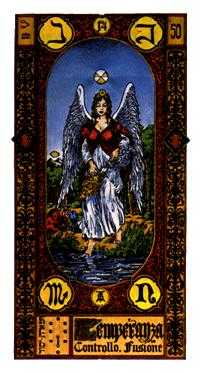 Temperance Tarot Card - Stairs Tarot Deck