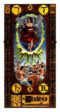 Judgment Tarot Card - Stairs Tarot Deck
