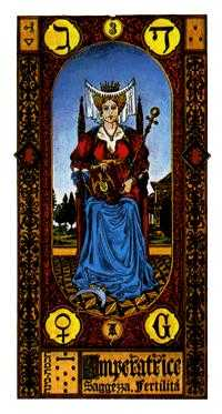 The Empress Tarot Card - Stairs Tarot Deck