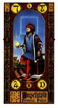 The Emperor Tarot Card - Stairs Tarot Deck