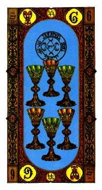 Six of Cups Tarot Card - Stairs Tarot Deck