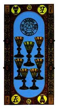 Seven of Cups Tarot Card - Stairs Tarot Deck