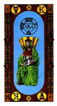 King of Hearts Tarot Card - Stairs Tarot Deck