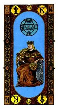 King of Coins Tarot Card - Stairs Tarot Deck