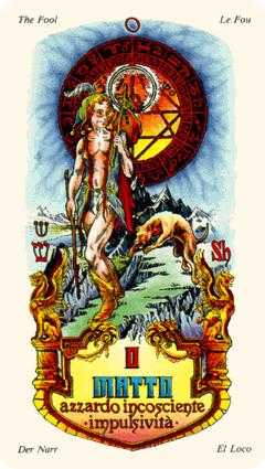 The Fool Tarot Card - Stars Tarot Deck