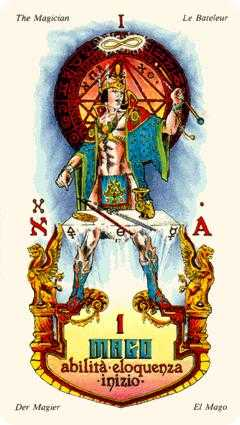 The Magician Tarot Card - Stars Tarot Deck
