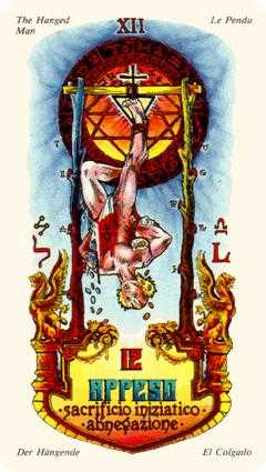 The Hanged Man Tarot Card - Stars Tarot Deck