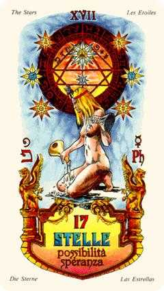 The Star Tarot Card - Stars Tarot Deck