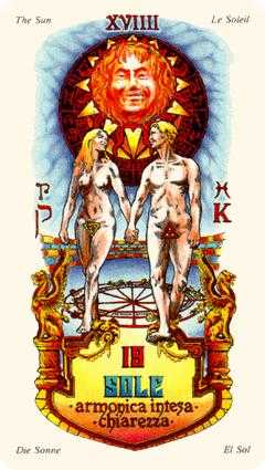 The Sun Tarot Card - Stars Tarot Deck