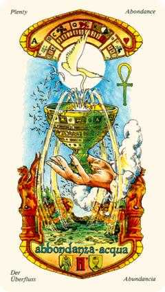 Ace of Cups Tarot Card - Stars Tarot Deck