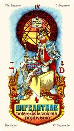 The Emperor Tarot Card - Stars Tarot Deck