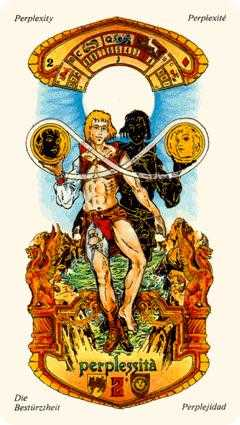 Two of Coins Tarot Card - Stars Tarot Deck