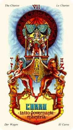 The Chariot Tarot Card - Stars Tarot Deck