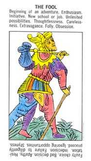 The Foolish Man Tarot Card - Starter Tarot Deck