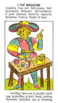 The Magician Tarot Card - Starter Tarot Deck