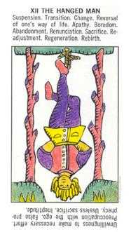 The Hanged Man Tarot Card - Starter Tarot Deck