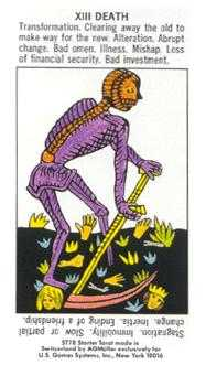 Death Tarot Card - Starter Tarot Deck