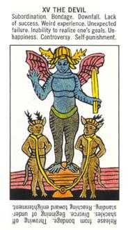 The Devil Tarot Card - Starter Tarot Deck