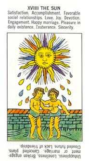 The Sun Tarot Card - Starter Tarot Deck