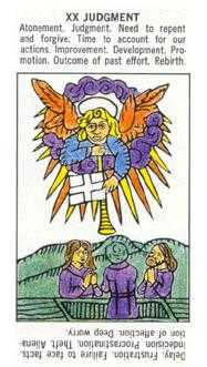 Judgment Tarot Card - Starter Tarot Deck