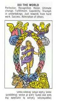 The World Tarot Card - Starter Tarot Deck