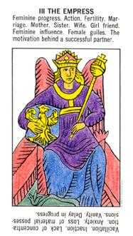 The Empress Tarot Card - Starter Tarot Deck