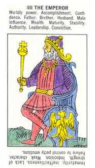 The Emperor Tarot Card - Starter Tarot Deck