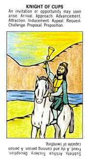 Knight of Cups Tarot Card - Starter Tarot Deck
