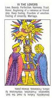 The Lovers Tarot Card - Starter Tarot Deck