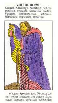 The Hermit Tarot Card - Starter Tarot Deck