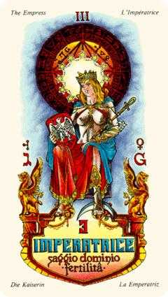 The Empress Tarot Card - Stella Tarot Deck
