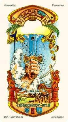 Ace of Swords Tarot Card - Stella Tarot Deck