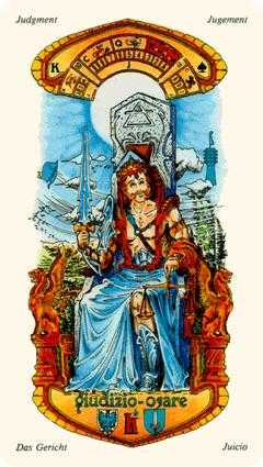 King of Swords Tarot Card - Stella Tarot Deck