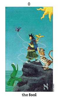 The Foolish Man Tarot Card - Sun and Moon Tarot Deck