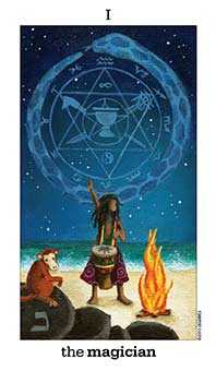 The Magi Tarot Card - Sun and Moon Tarot Deck