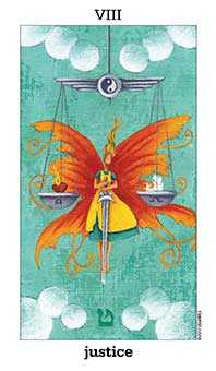 Justice Tarot Card - Sun and Moon Tarot Deck