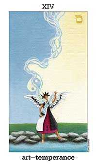 Temperance Tarot Card - Sun and Moon Tarot Deck