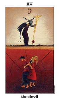 The Devil Tarot Card - Sun and Moon Tarot Deck