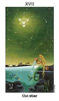The Star Tarot Card - Sun and Moon Tarot Deck