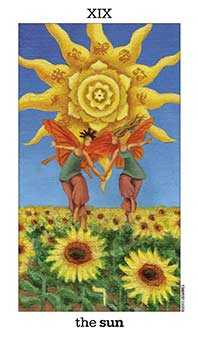 The Sun Tarot Card - Sun and Moon Tarot Deck
