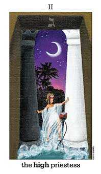 The High Priestess Tarot Card - Sun and Moon Tarot Deck