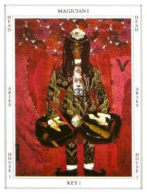 The Magus Tarot Card - Tapestry Tarot Deck