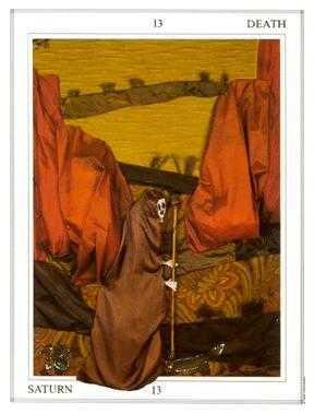 The Close Tarot Card - Tapestry Tarot Deck