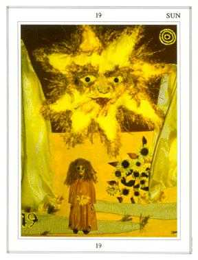 The Sun Tarot Card - Tapestry Tarot Deck