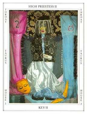 The High Priestess Tarot Card - Tapestry Tarot Deck