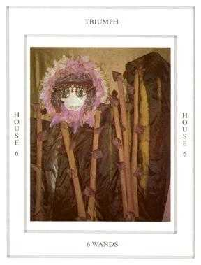 Six of Staves Tarot Card - Tapestry Tarot Deck
