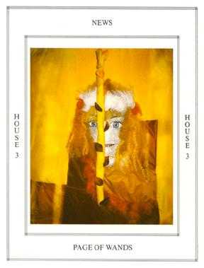 Page of Lightening Tarot Card - Tapestry Tarot Deck