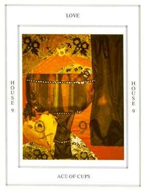 Ace of Ghosts Tarot Card - Tapestry Tarot Deck
