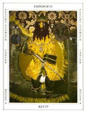 The Emperor Tarot Card - Tapestry Tarot Deck